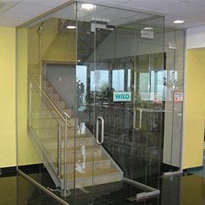 Az üvegfalak felhasználási területei