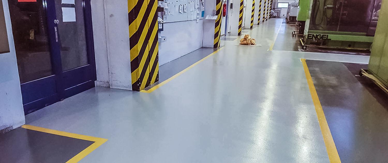 A műgyanta padlók felhasználási területei