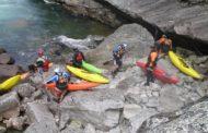 Rafting az Alpokban