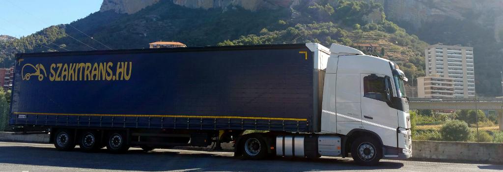 Kihez forduljunk nagy mennyiségű szállítás esetén?