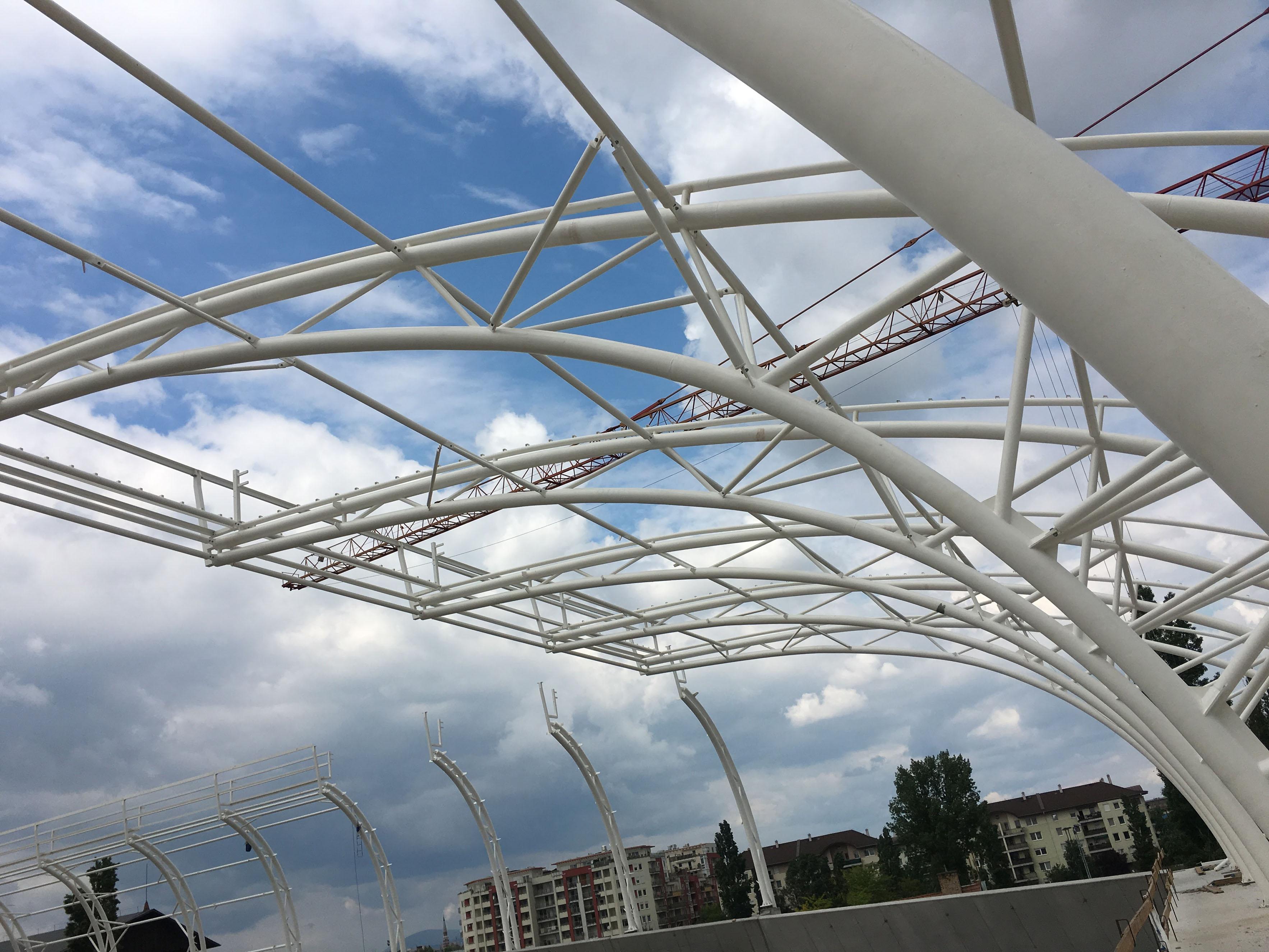 A fémszerkezetes épületek előnyei
