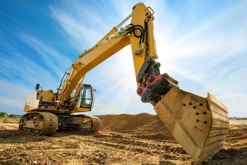 A földmunka és az építőipar