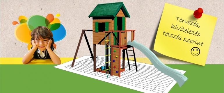 Biztonságos és szórakoztató játszóterek