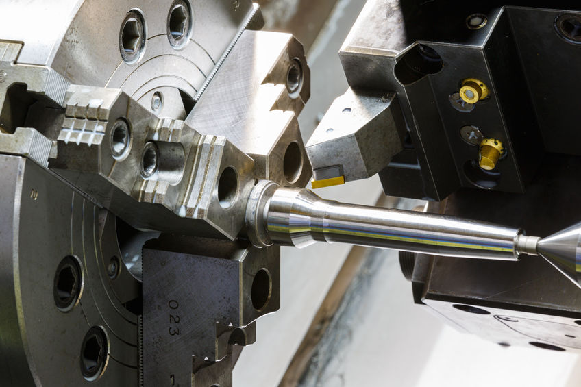 CNC esztergálás modern, programozható szerszámgépekkel