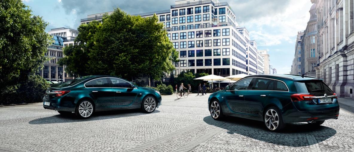 Dinamikus vezetés Opel Insigniával!
