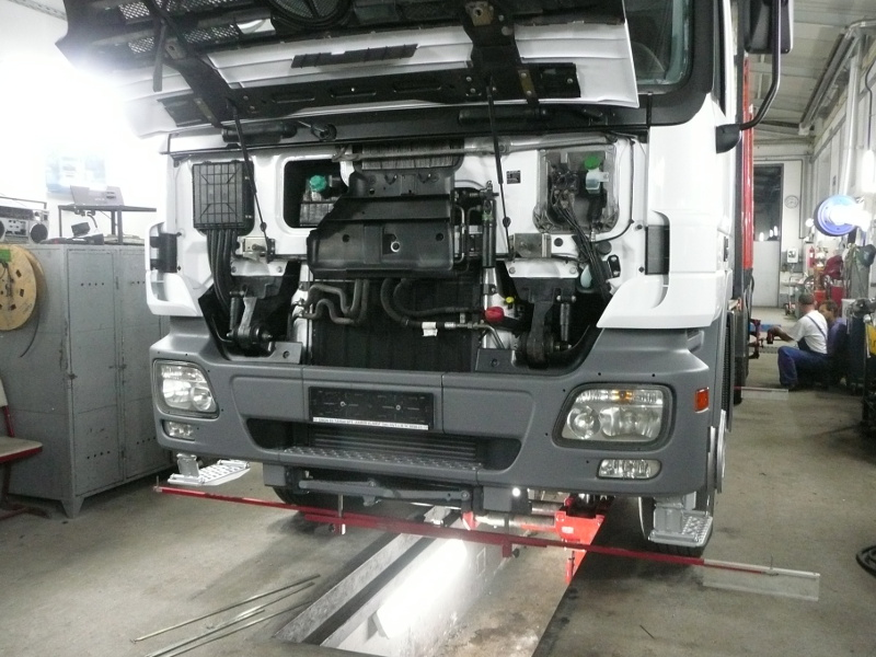 Kamionjavítás nagyfokú tapasztalattal