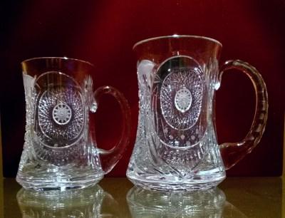 Kristálypoharak és vázák egyedi gravírozással