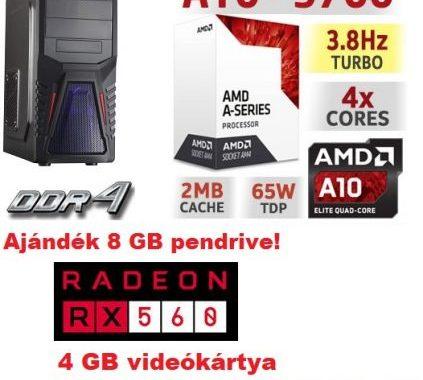 Gamer PC-k olcsón!