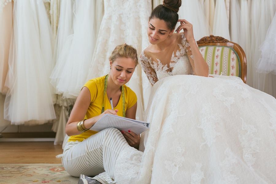 Honnan szerezzünk be anyagot az esküvői ruhák készítéséhez?