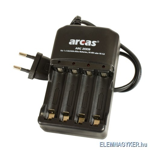 Ha lemerül az elem, töltse fel akkumulátor töltővel!