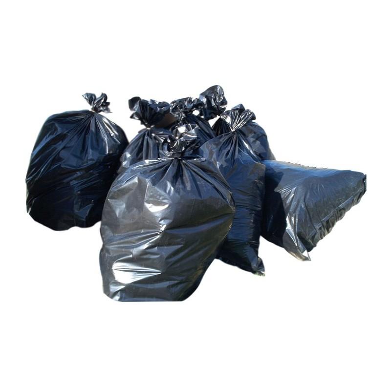 Újrahasznosított zsák hulladékgyűjtő céllal