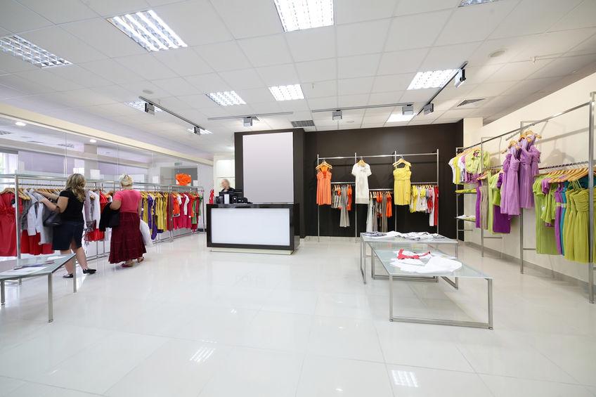 A PVC padló az üzlethelyiségben is megállja a helyét!