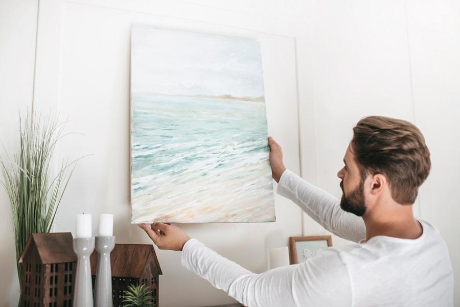 Vászonképen a kedvenc festménye