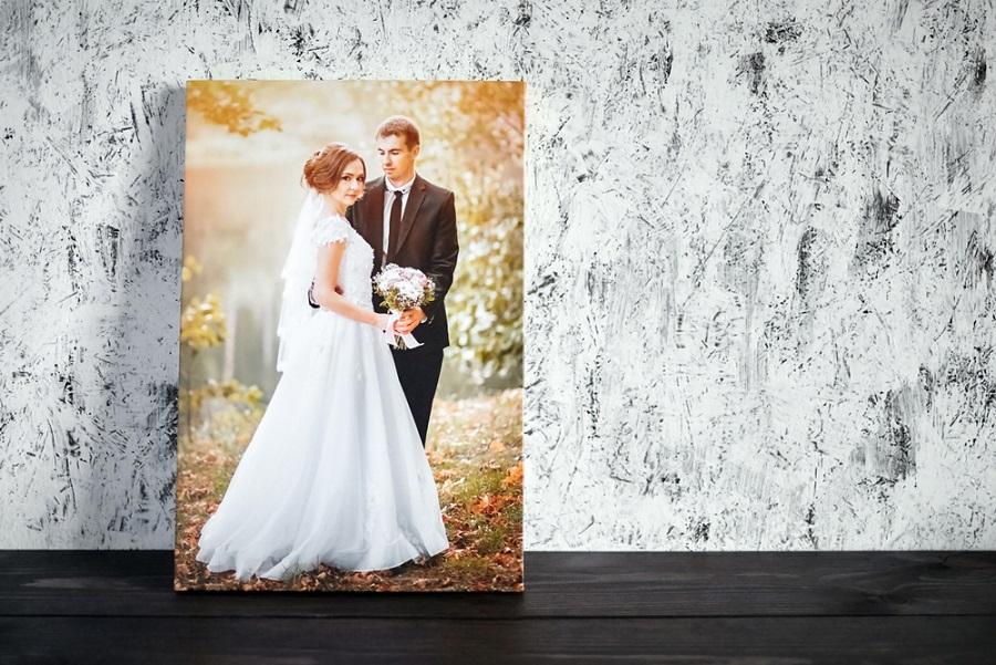 Vászonképek az esküvői fotóitokból