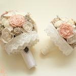 Tartós menyasszonyi csokor élővirág helyett!